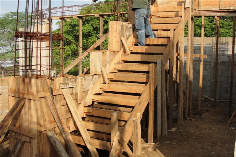 Timber Formwork For Concrete Stairs - Photos Freezer and