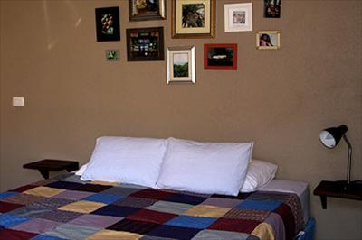 Typical bedroom at Hotel Con Corazon