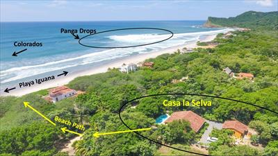 Casa La Selva, great proximity beach & both breaks!