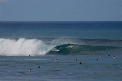 Popoyo Outer Reef:  Double Overhead,  Clean
